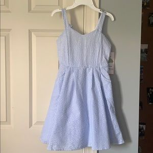 NEW! Girls Blue Party Dress
